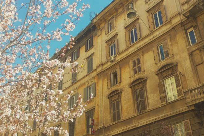 Unterwegs in Roms charmantesten Viertel - Pratí