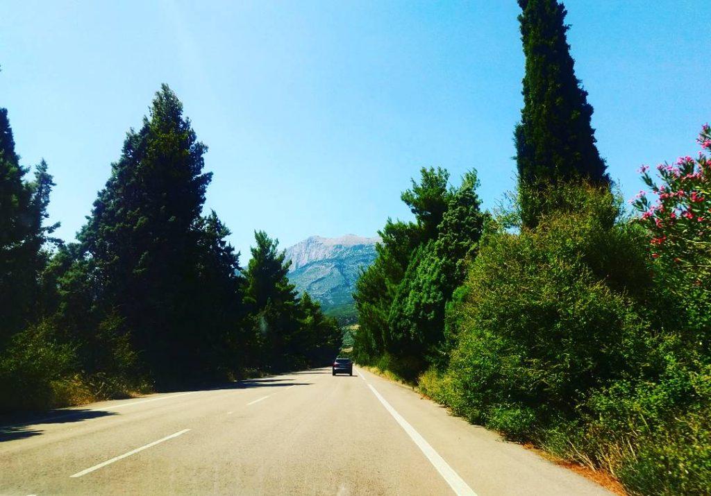 Unterwegs im Parnassgebirge