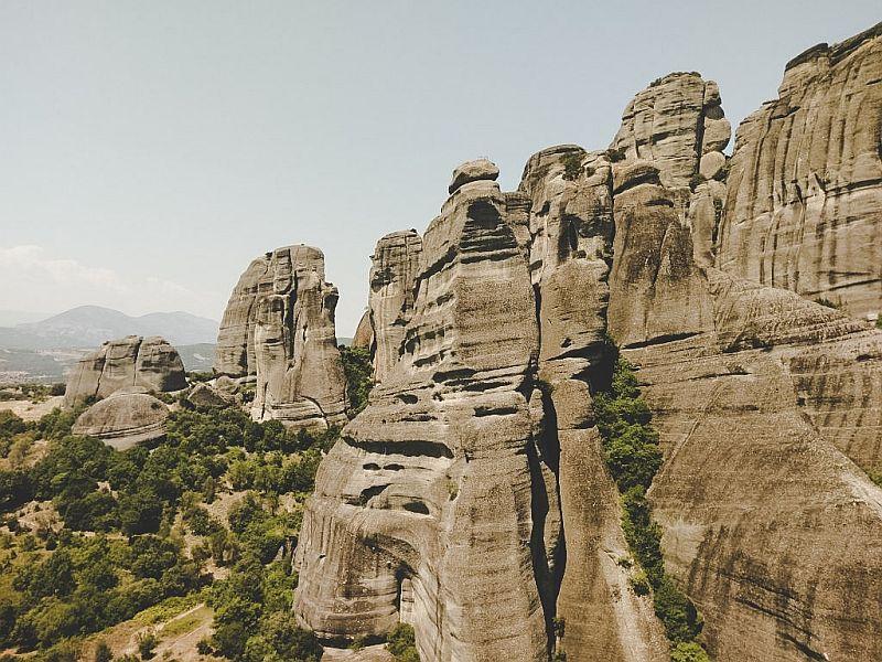Die sagenumwobenen Felsen von Meteora