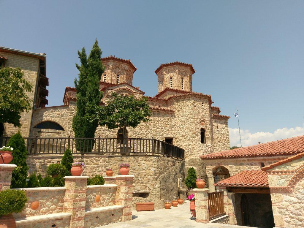 Die Kirche des Klosters Varlaám