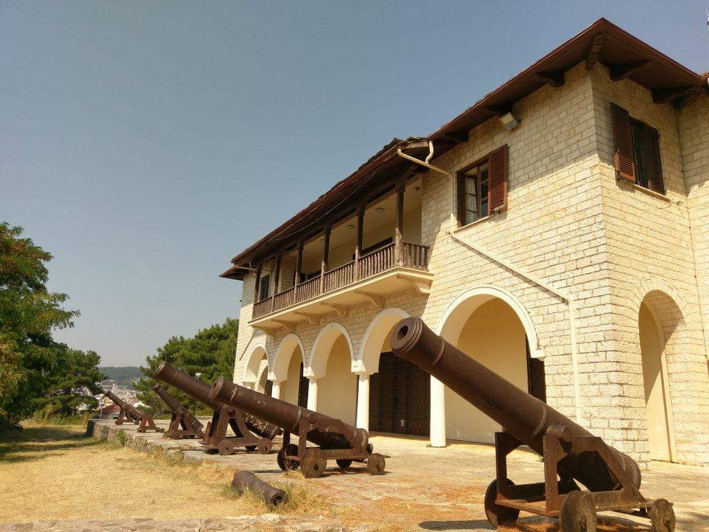 Kanonen auf dem Zitadellengelände