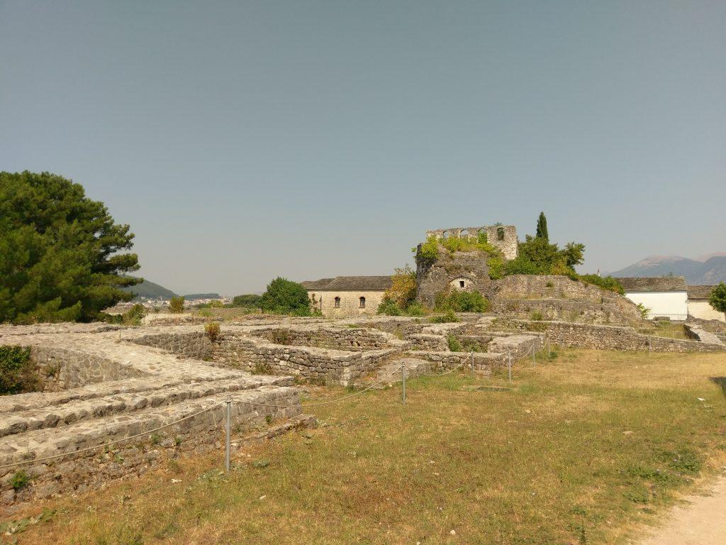 Die Ruinen der ehemaligen Festung Ioánninas