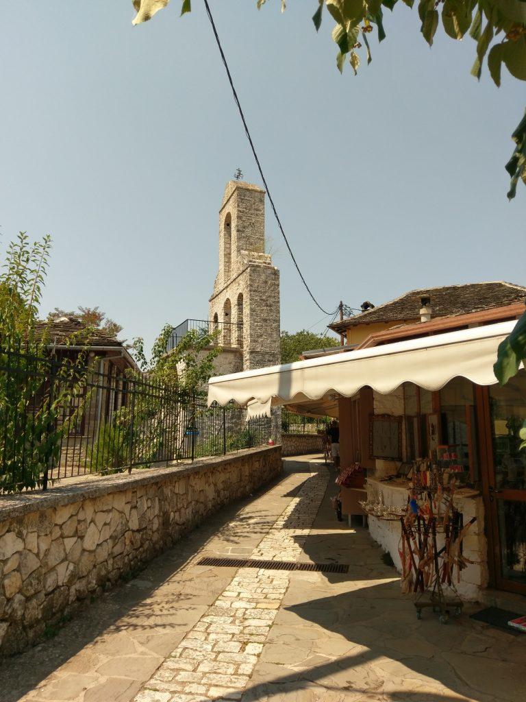 Die Kirche im Zentrum der kleinen Insel