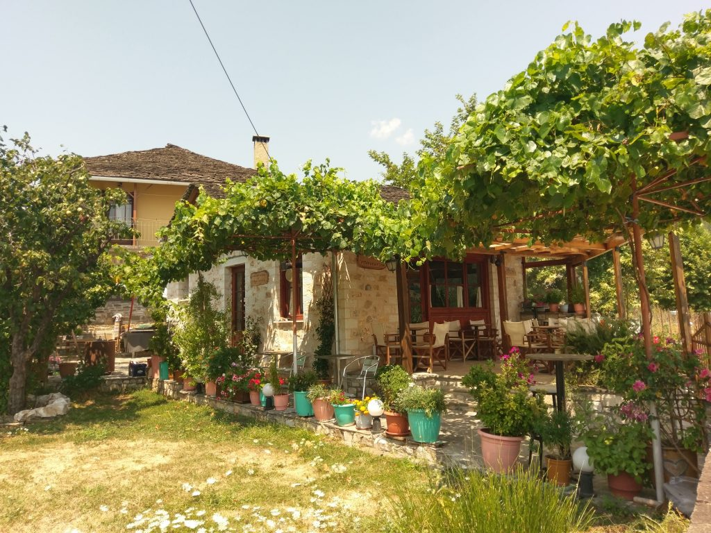 Haus auf der Insel Nisi