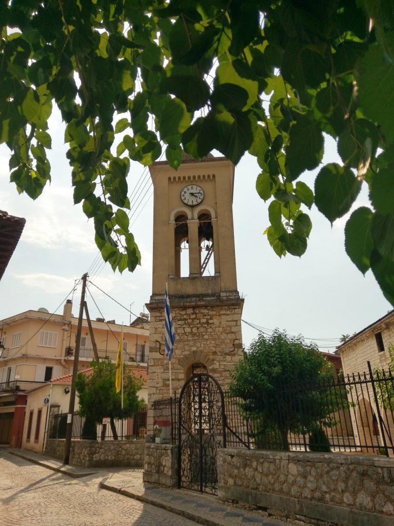 Der Uhrturm aus dem Jahr 1905