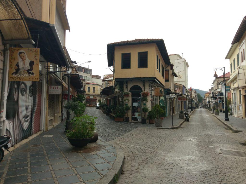 Die Straßen der Neustadt in Ioánnina