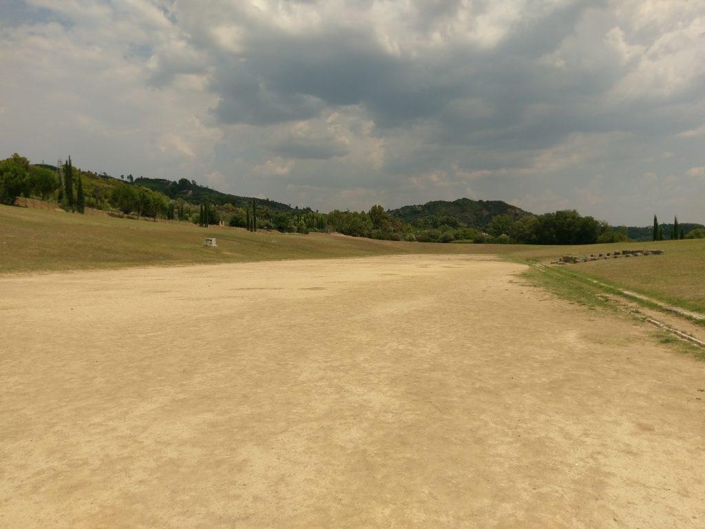 Der Sportplatz der ersten Olympischen Spiele
