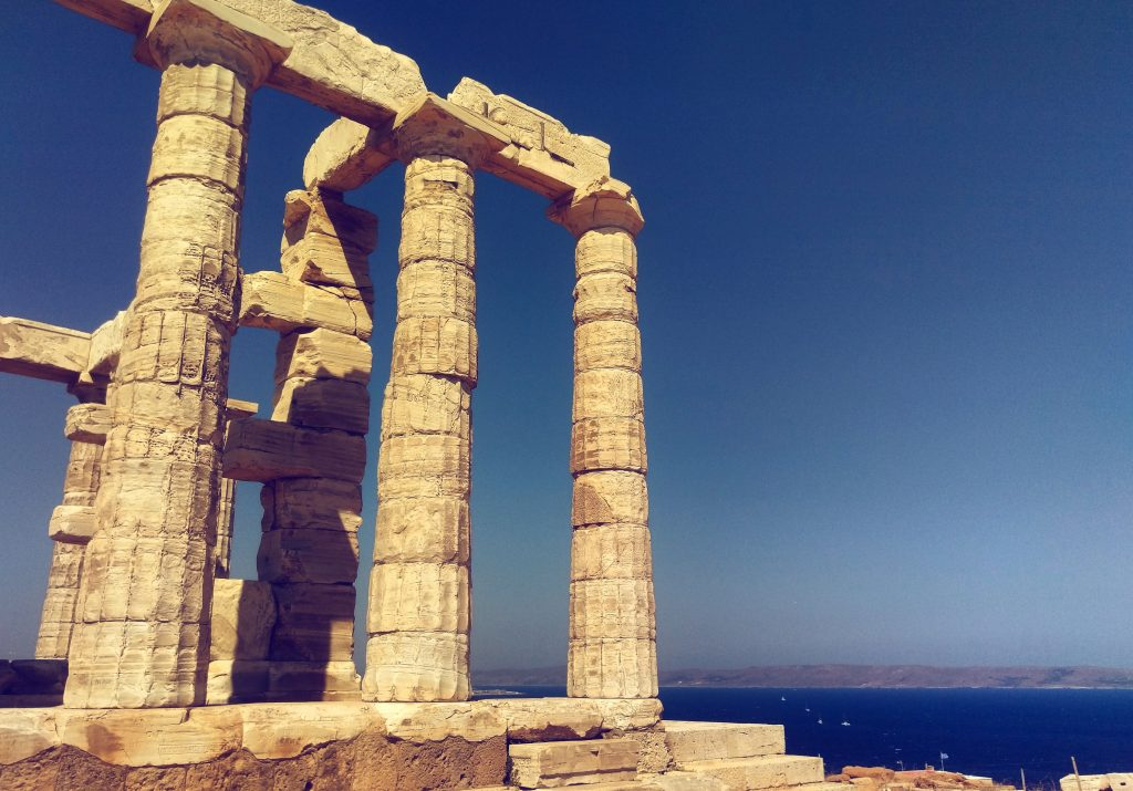 Der Poseidontempel am Kap Sounion