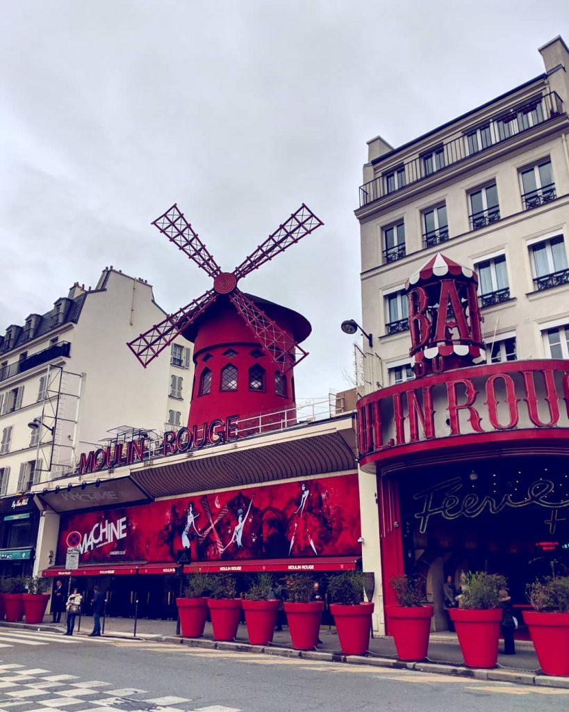 Moulin Rouge -die berühmteste Mühle der Welt