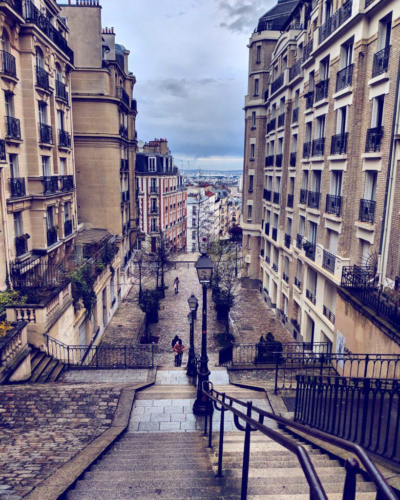 Montmartre und seine Gassen