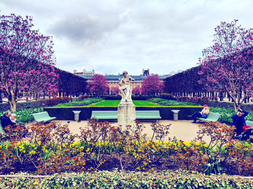 Ein schöner Ort zum Verweilen - der Jardin du Palais Royal