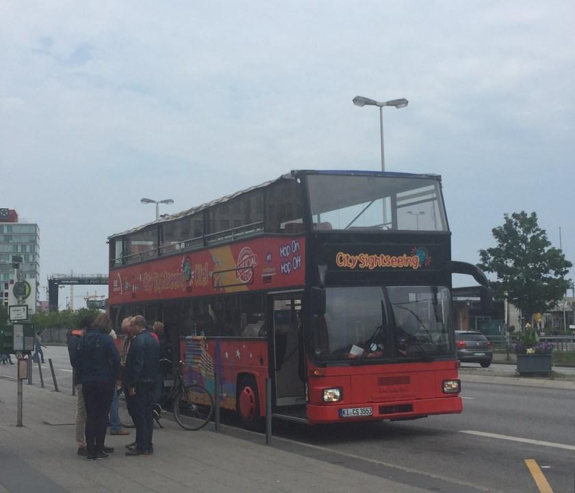Kieler Sightseeing Bus - am Hauptbahnhof