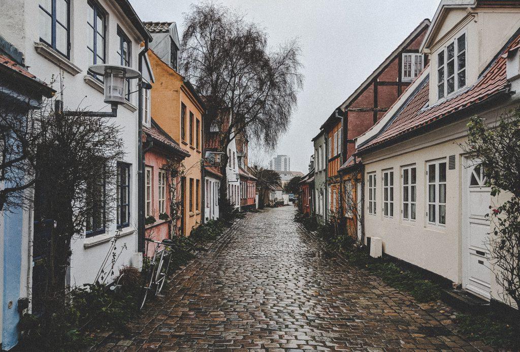 Møllestien - Die niedlichste Gasse in Aarhus