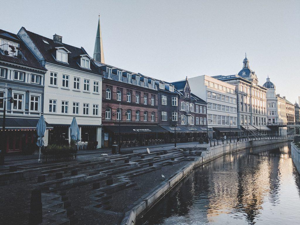 Die Aarhuser Innenstadt