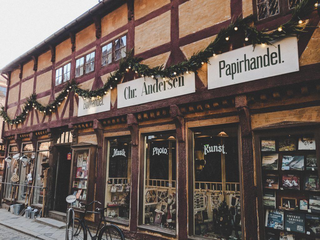 Buchladen und Papierhandel aus den 20er Jahren