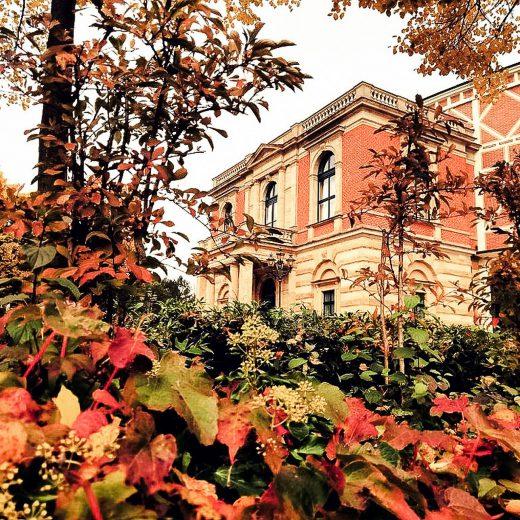 Das Richard Wagner Festspielhaus in Bayreuth