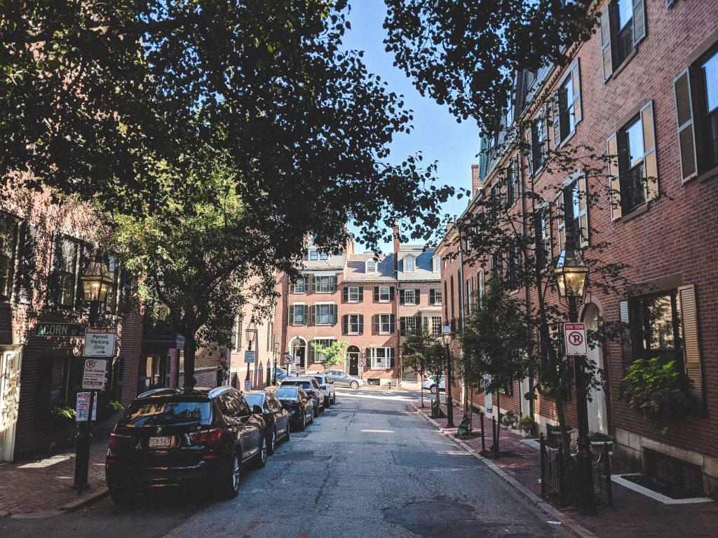 Die Straßen von Beacon Hill