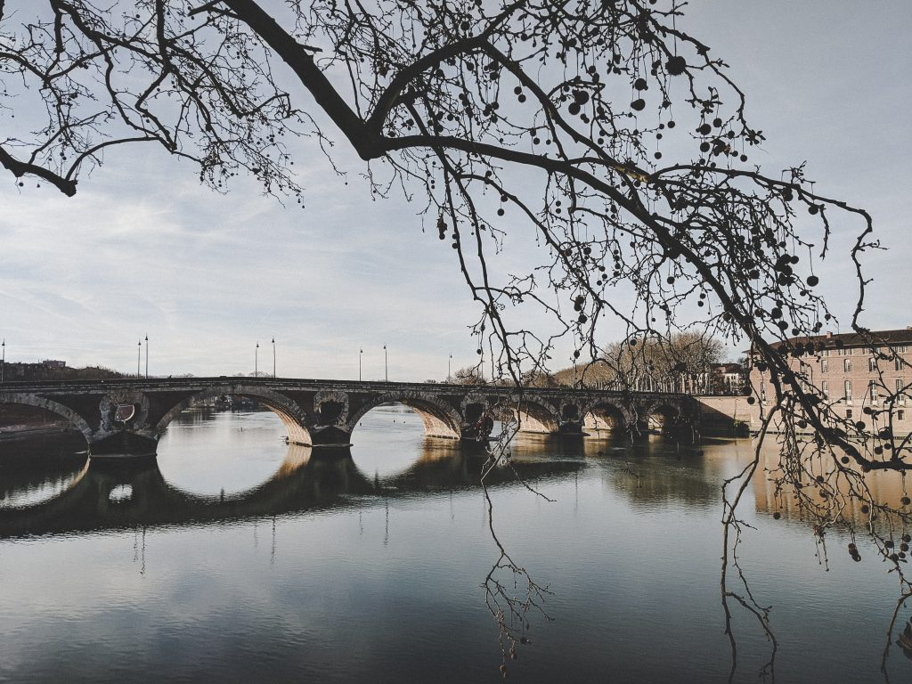 Die Pont Neuf in Toulouse