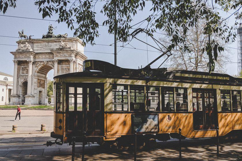 Arco della Pace in Mailand