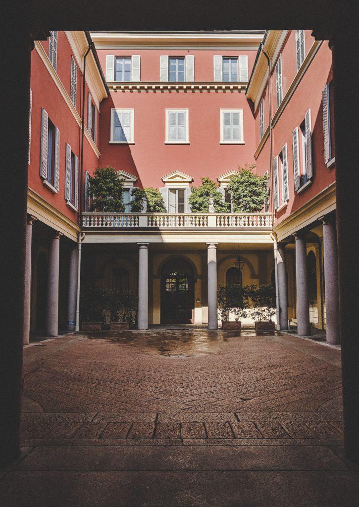 Die wahre Schönheit Mailands verbirgt sich in den Hinterhöfen