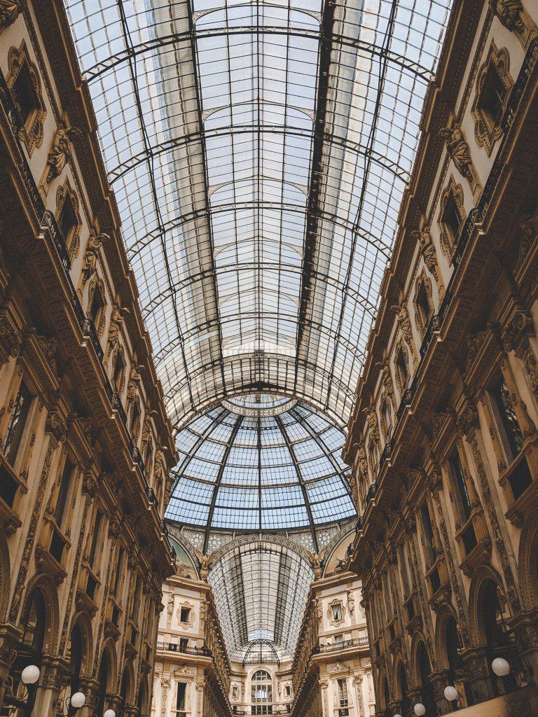 Die Galleria Vittorio Emanuele II in Mailand