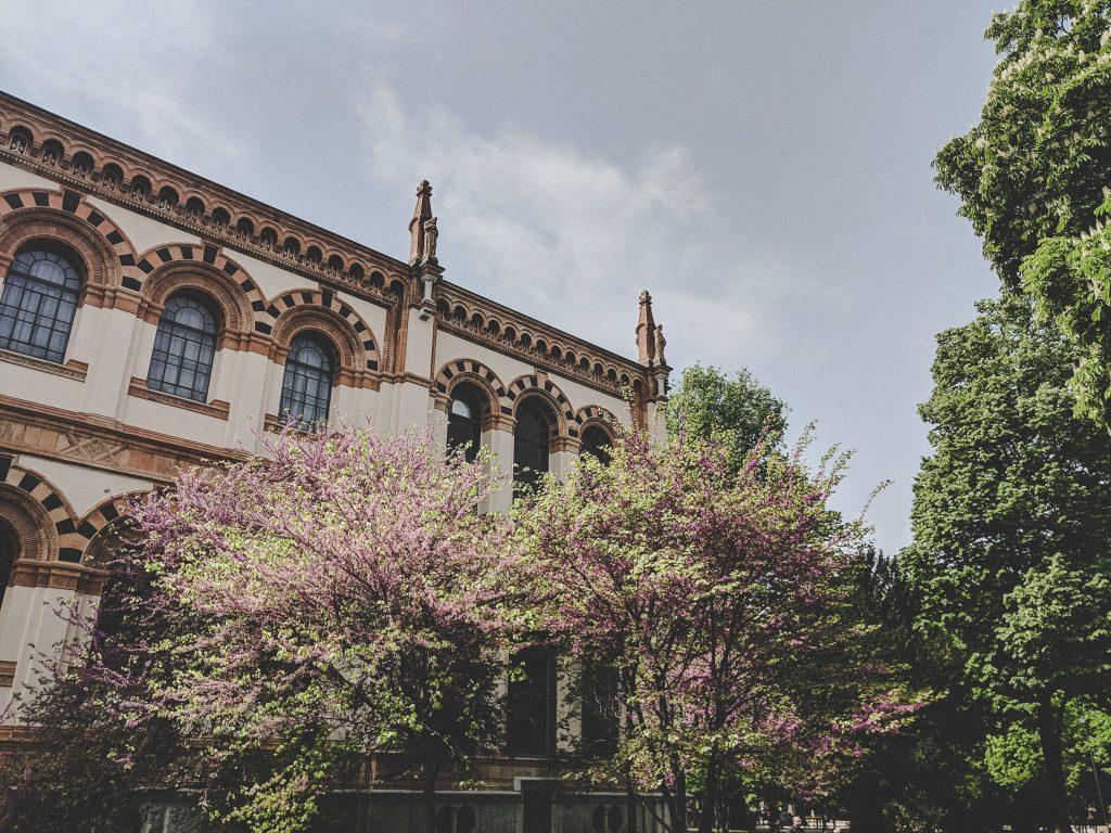 Das Naturkundemuseum im Giardini Pubblici in Mailand