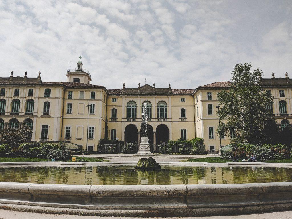 Der Palazzo Dugnani in Mailand