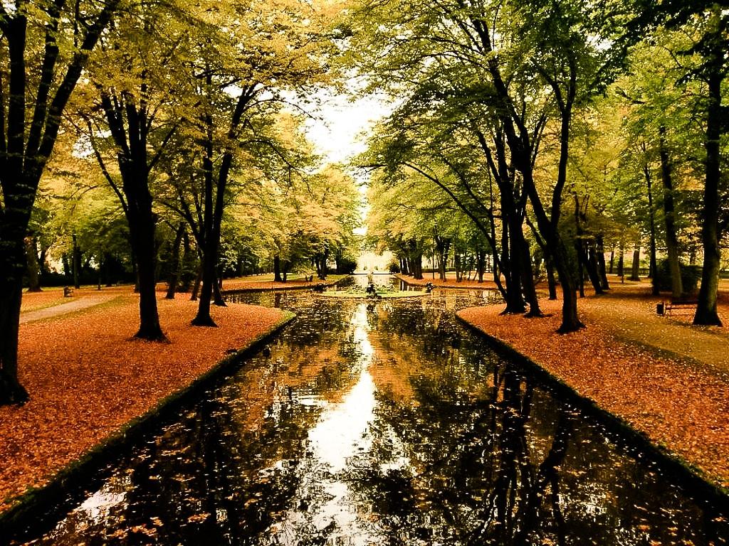 Der Hofgarten in Bayreuth