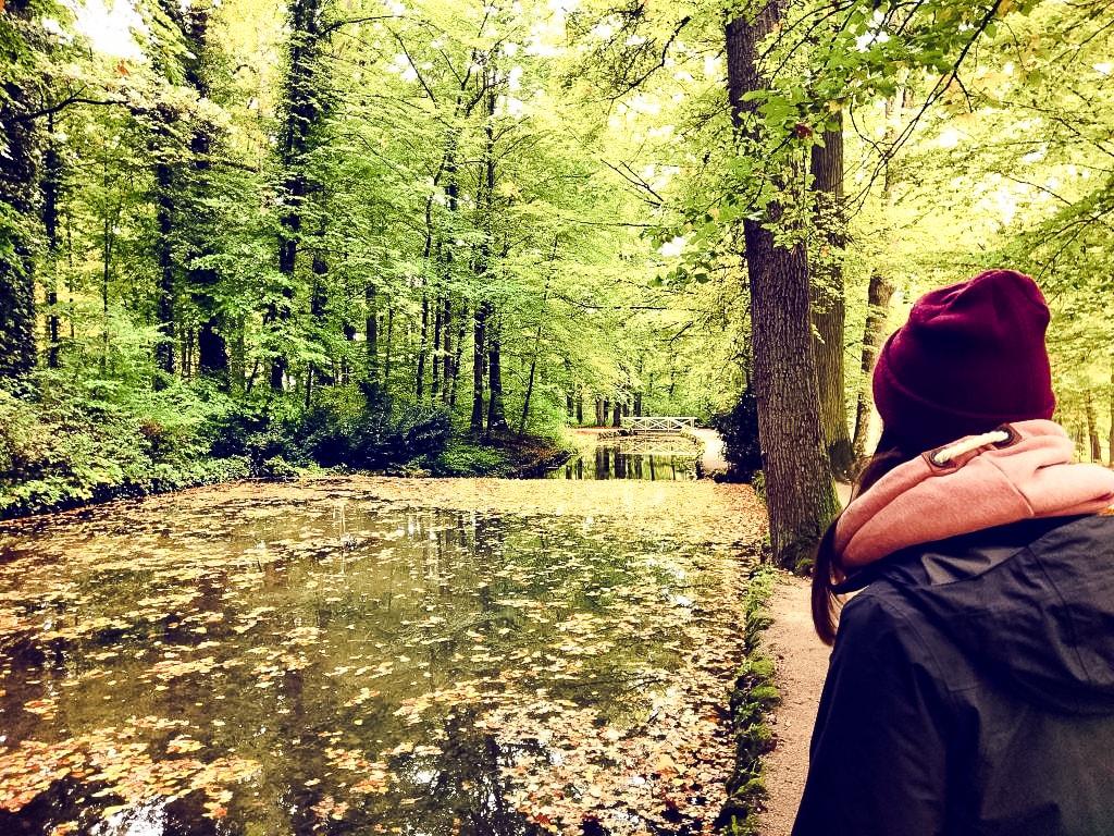 Im Park der Eremitage in Bayreuth