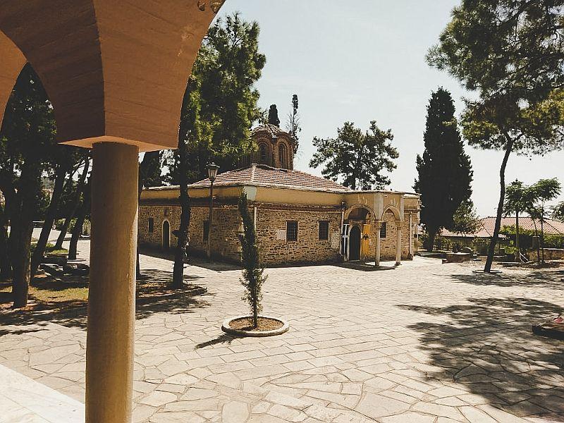Die Kirche des Moni Vlatadon Klosters