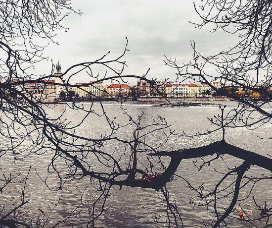 Der Blick auf die Prager Altstadt