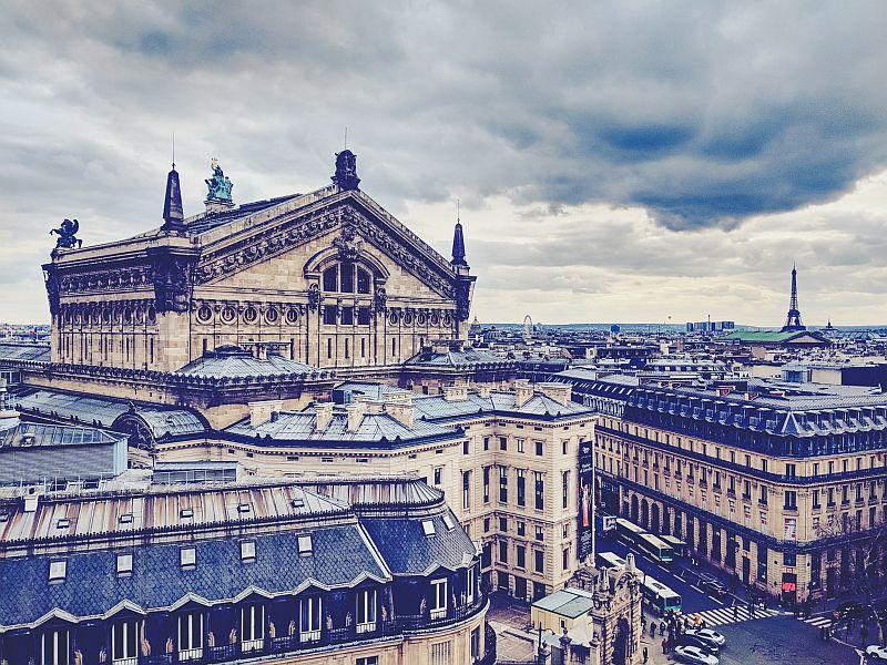 Der Blick auf Paris