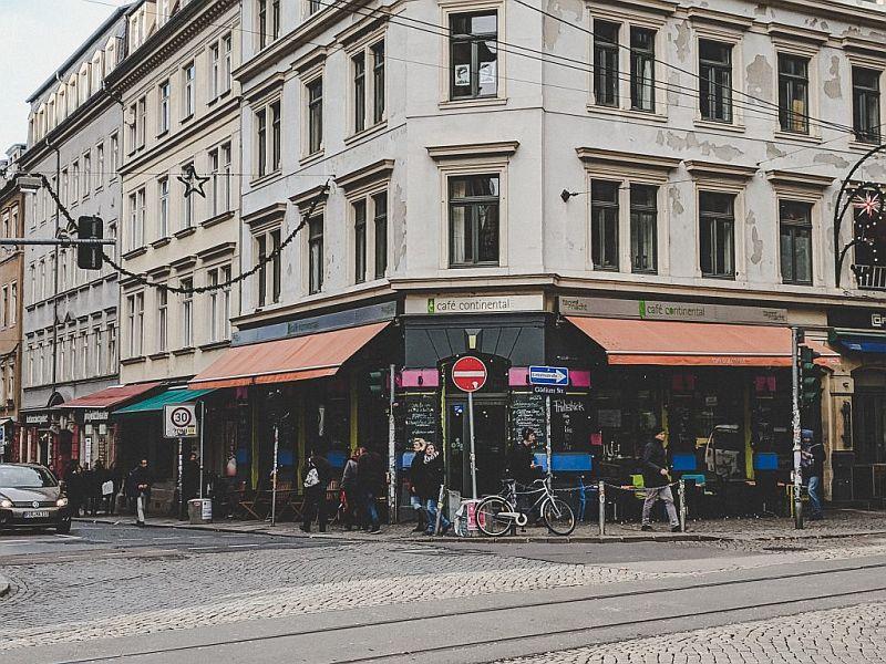 Das Café Continental in Dresden