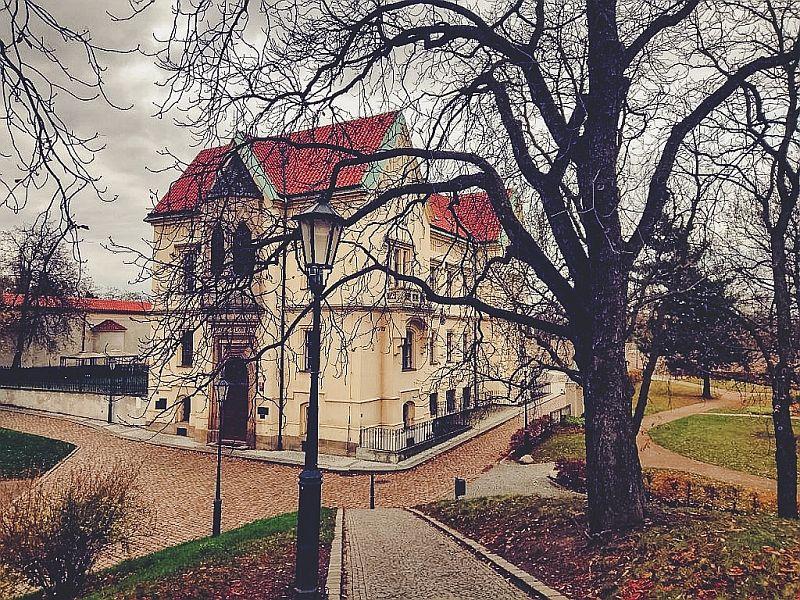 Die neue Probstei in Prag
