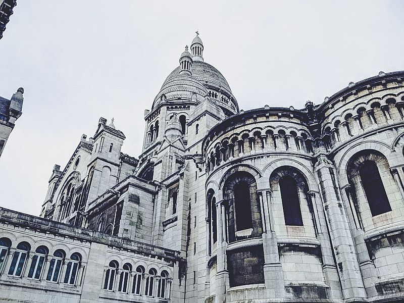 Die Sacre Coeur in Paris