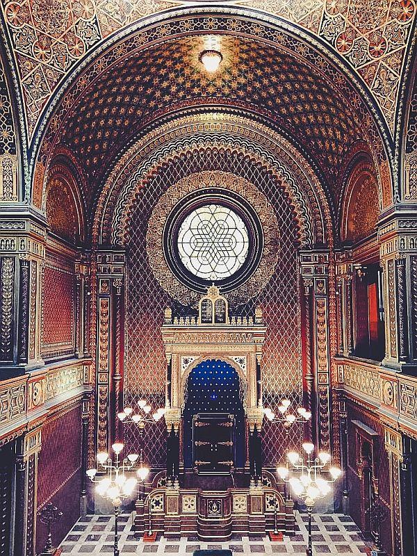 Die spanische Synagoge in Prag