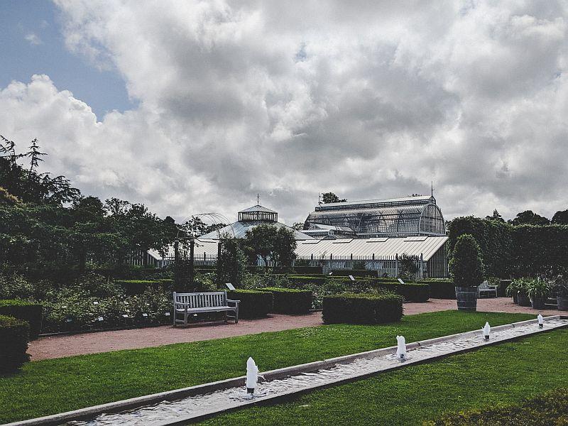 Das Palmenhaus im Trädgårdsföreningen Park