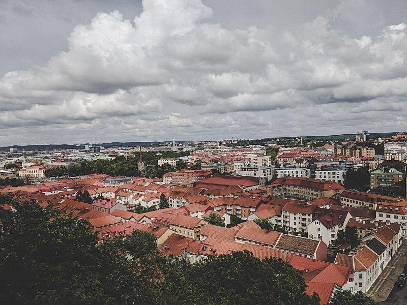 Panoramablick auf Göteborg