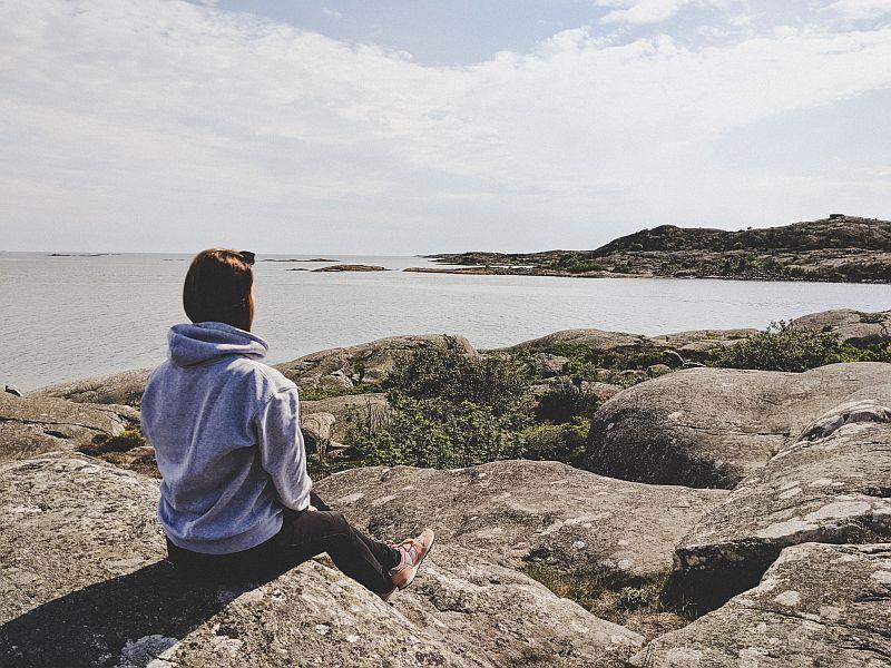 Auf der Schäreninsel Vrangö in Göteborg