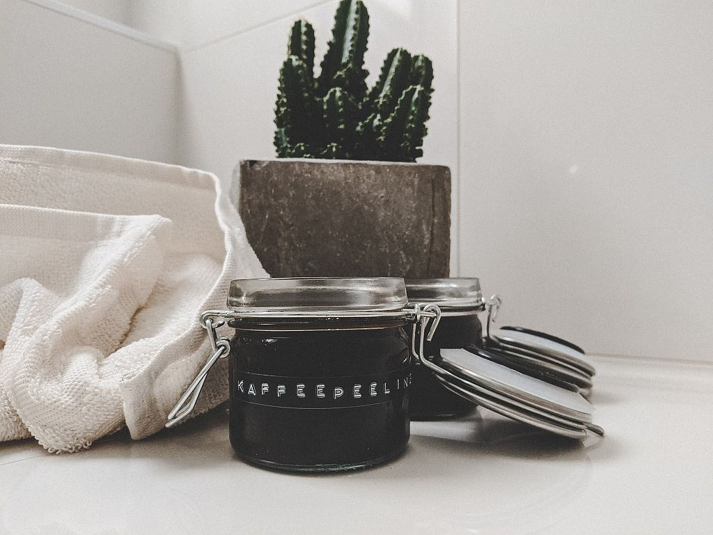 Selbstgemachtes Kaffeepeeling für den Körper