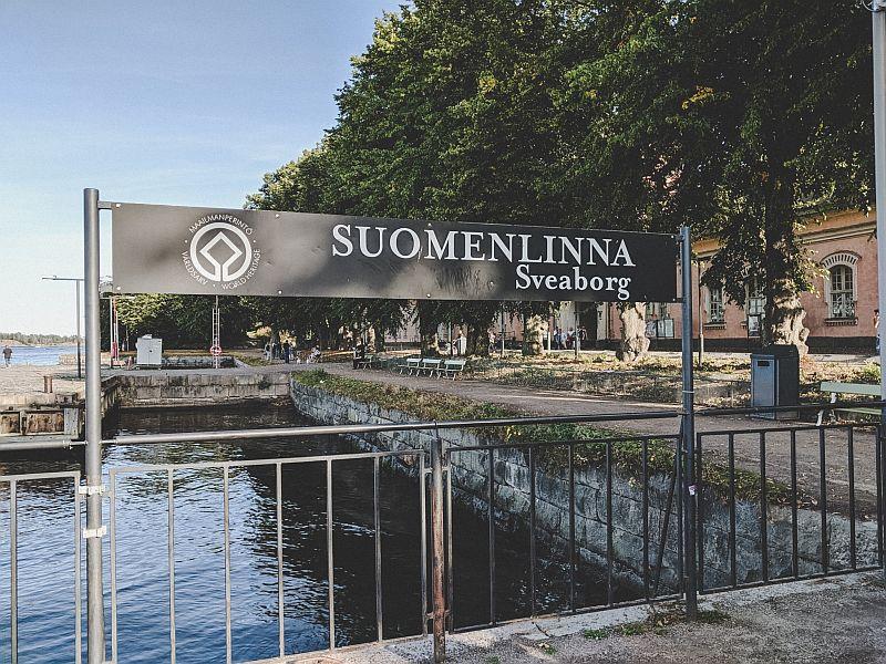 Anlegehafen auf Suomenlinna