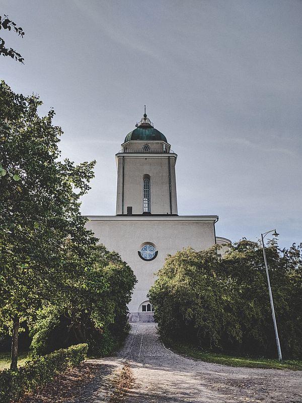 Die Suomenlinna-Kirche