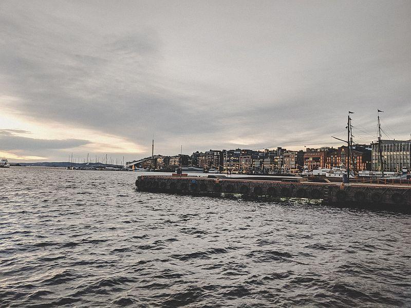 Blick auf Aker Brygge