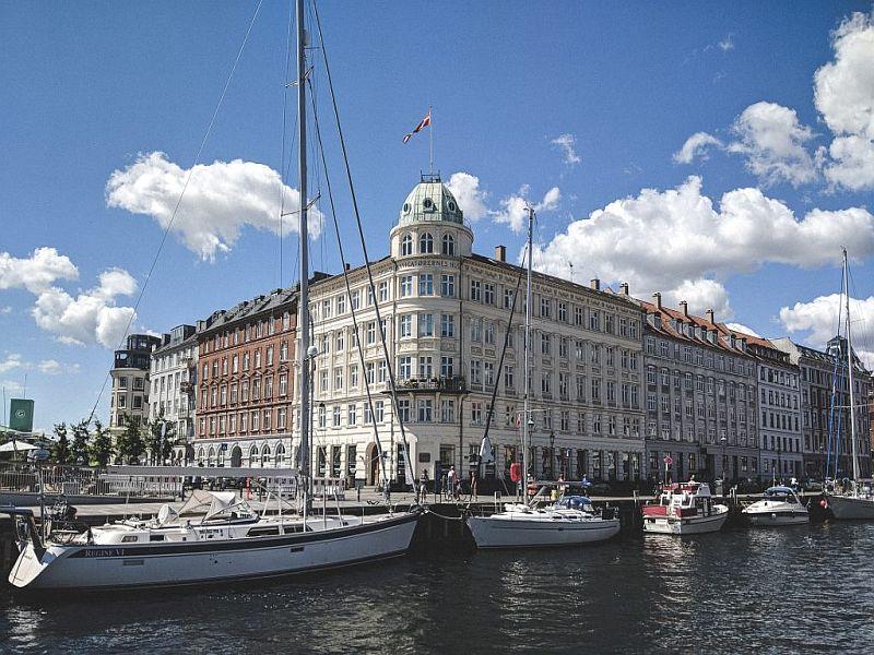 Wunderschöne Architektur am Nyhavn
