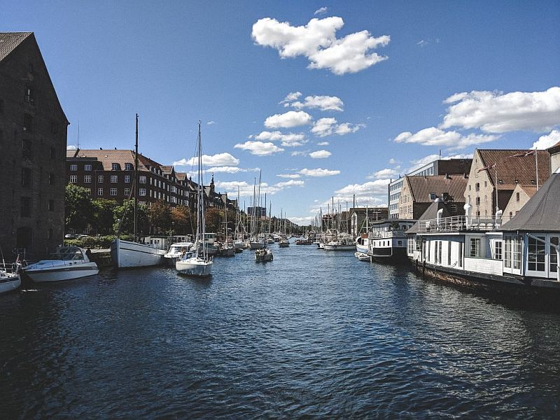 Blick auf den Christianshavn Kanal