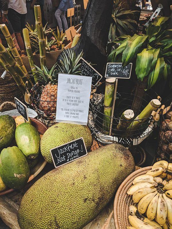 Exotische Früchte in der Torvehallerne