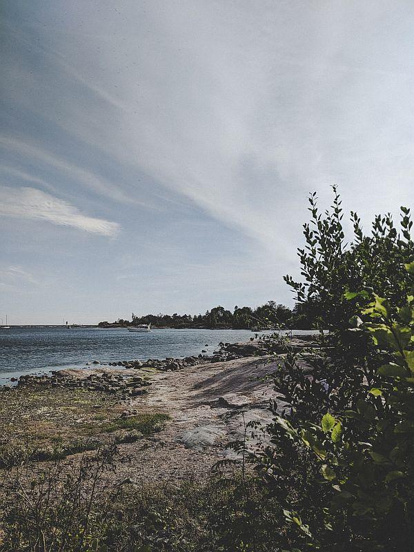 Helsinki Tipps - Natur in der Merisatama Bucht