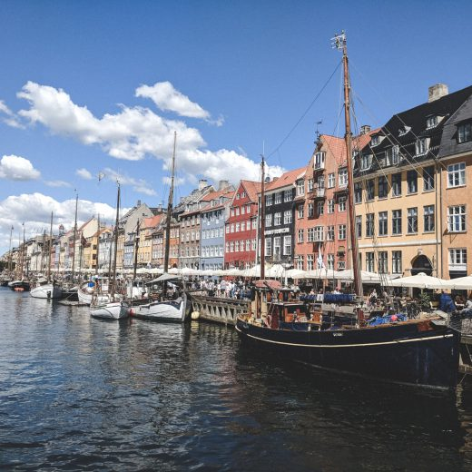 Der bunte Nyhavn in Kopenhagen