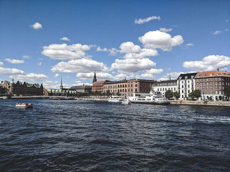 Die wunderschöne Aussicht auf die Innenstadt von Kopenhagen