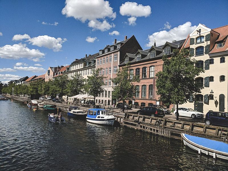 Die Promenade am Christianshavn
